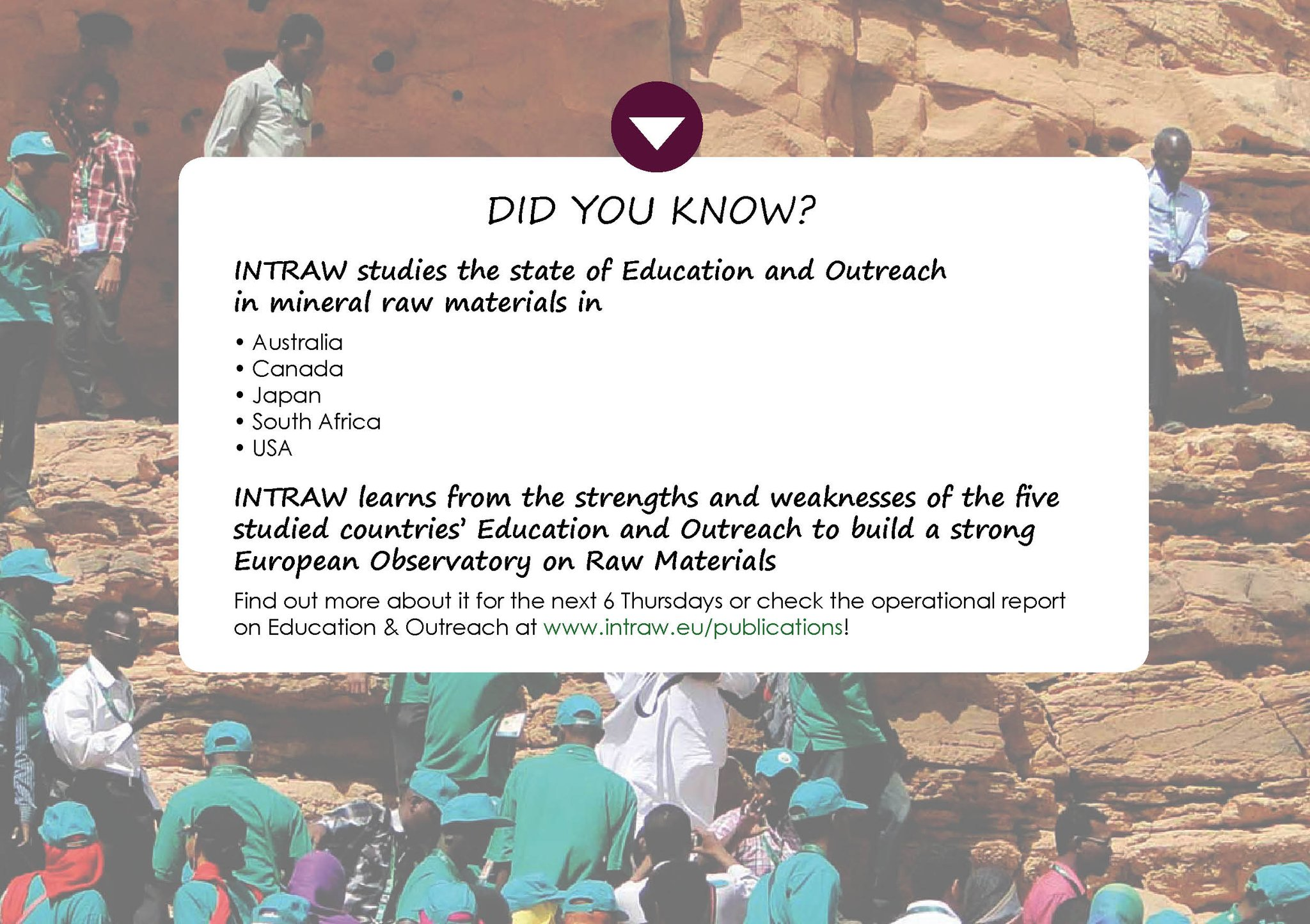 More information on our third topic #EducationAndOutreach