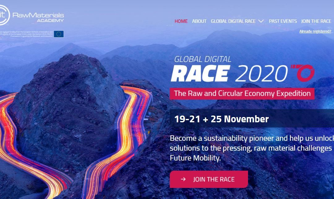 Call for registrations to the Global Digital RACE 2020 – 19-21 November