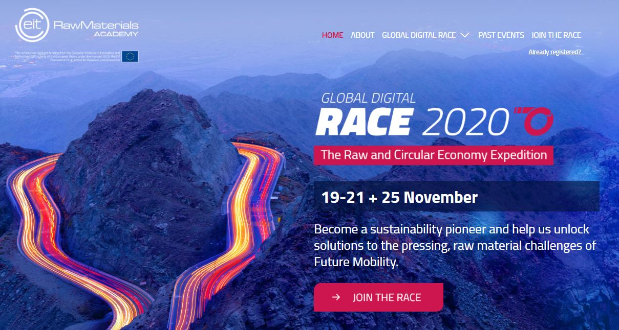 Call for registrations to the Global Digital RACE 2020 - 19-21 November